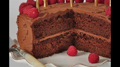 chocolate butter cake recipe demonstration joyofbaking youtube
