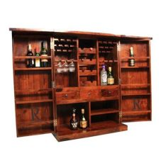 cheap kitchen cabinets online india ethnic india small bar cabinet with 2 free bar chairs buy ethnic india small