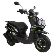moto italika de mujer motoneta italika ws 175 verde con negro elektra elektra