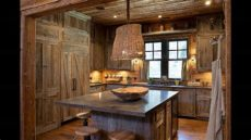 reclaimed wood kitchen cabinetry barnwood kitchen cabinet