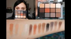 viseart neutral matte palette swatches viseart neutral matte palette swatch review