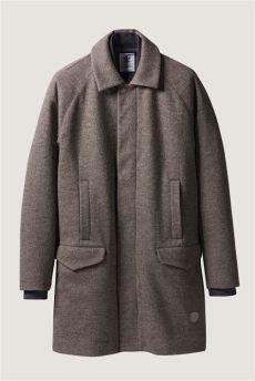 adidas x wings horns bonded wool mac coat camel garmentory - Adidas Wings Horns Coat