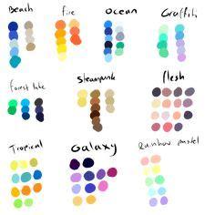 colors hex colors codes palette chart wheel html