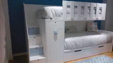 literas de tres camas conforama litera tren de un armario y tres camas literas bedrooms