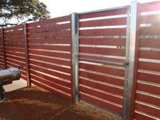 metal gate frame for horizontal wood fence commercial horizontal steel frame gate metal fence custom gates wood fence
