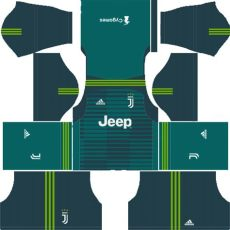 juventus kits logo url league soccer 2018 2019 - Dls 19 Juventus Gk Third Kit