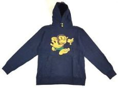 baby blue bape shirt vintage bape a bathing ape baby milo hoodie navy blue size medium japan nigo ebay