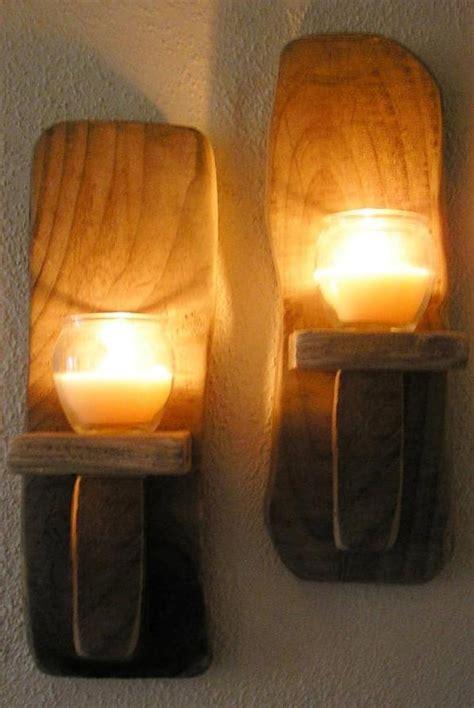 irish driftwood wall candle sconces handcrafted ireland choice