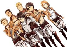 attack on titan characters wallpaper attack on titan review episodes 1 6 mage in a barrel