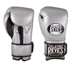 guantes de box cleto reyes 12 oz guantes de entrenamiento con velcro cleto reyes plata 12 oz