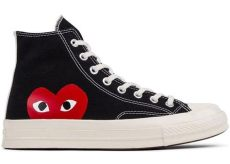 play converse chuck taylor all star 70 high white converse chuck all 70s hi comme des garcons play black