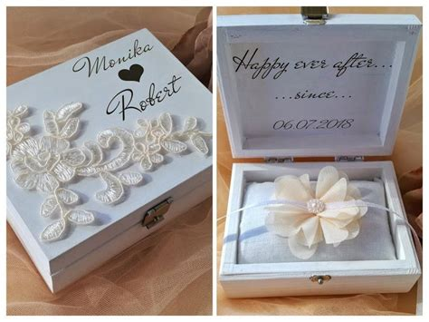 wedding ring cushion wedding ring box ring bearer