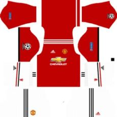 manchester united ucl kits 2017 2018 league soccer manchester united ucl dls 2017 2018 kits - Kit Dls Home United 2018