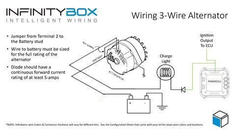 3 wire alternator infinitybox