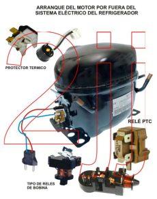 arranque de compresor de refrigerador solucionado heladera no consul no enciende compresor yoreparo