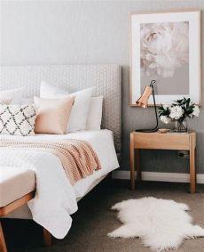 recamaras blancas con rosa colores para habitaciones 2021 2020 modernos 65 fotos e ideas
