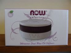 now solutions diffuser now solutions ultrasonic dual mist diffuser 8 45 fl oz capacity ebay