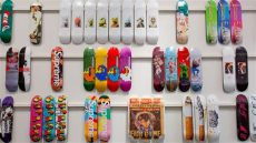 the drop in history a complete collection of supreme skate decks can be yours at - Supreme Skateboard Deck Collection