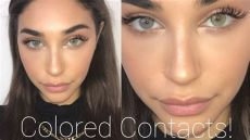 solotica colored contacts colored contacts try on review solotica discount code chantel jeffries
