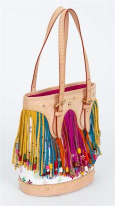 louis vuitton multicolor bags for sale louis vuitton limited edition multicolor fringe bag for sale at 1stdibs