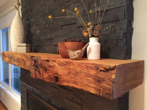 image result live edge walnut fireplace mantel wood