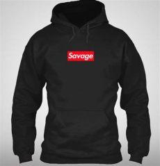 supreme savage box logo inspired hoodie 21 savage ebay - Supreme Lv Style Savage Box Logo Hoodie