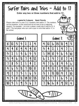 year math games grade year activities summer packet