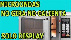microondas no enciende causa horno microondas no calienta no enciende no gira funciona display y bombillo