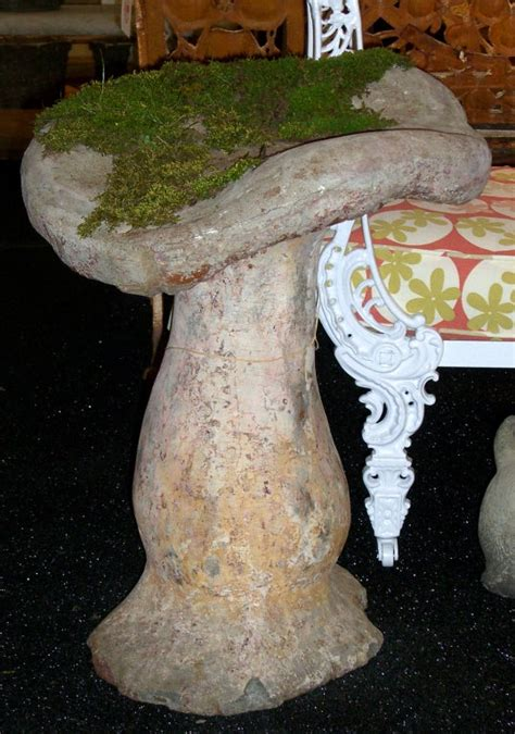 quintessentially french cast stone mushroom garden ornament sale