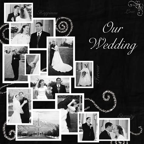 Wedding Scrapbook Ideas Black And White.html