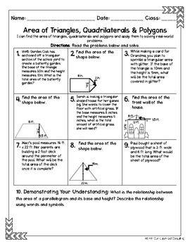 sixth grade math homework sheets geometry smith curriculum