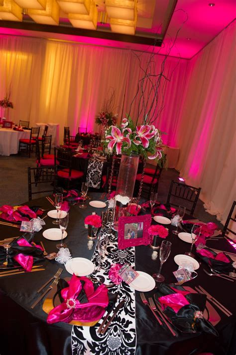 Black White And Fuchsia Wedding Ideas.html