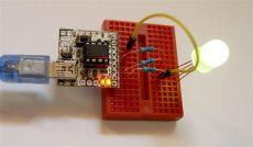 attiny85 programmer shield attiny85 digispark compatible kit shield programmer from bobricius on tindie