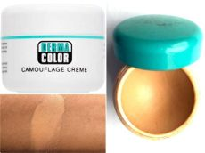 kryolan dermacolor camouflage d5 review swatches - Kryolan Dermacolor Camouflage Cream Price