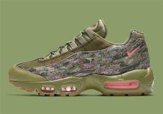 air max 95 camouflage nike air max 95 floral camo aq6385 200 sneakernews