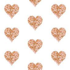 glitter rose gold heart wallpaper gold glitter hearts wallpaper willowlanetextiles spoonflower