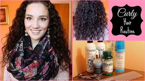 journey healthy thick curly hair updated hair routine