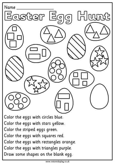 Easter Worksheets For Elementary Students.html