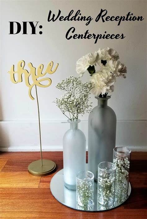 diy inexpensive wedding reception centerpieces la vie en