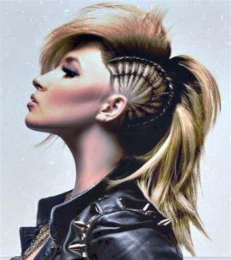 long mohawk hairstyles women mohawk hairstyles women mohawk