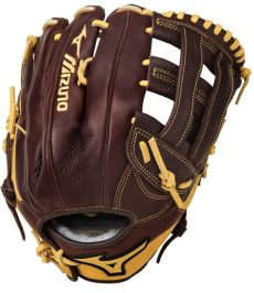 mizuno outfield softball glove mizuno gfn1250b2 franchise 12 5 quot infield outfield baseball glove right throw