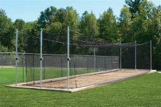 used baseball batting cages for sale outdoor batting cage system tuffframe elite cage