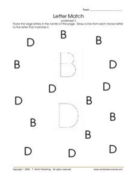 letter match worksheet 1 letters pre kindergarten worksheet