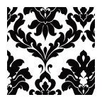 luther skull damask wallpaper luther sand skull modern damask wallpaper wallpaper eclectic wallpaper by brewster home