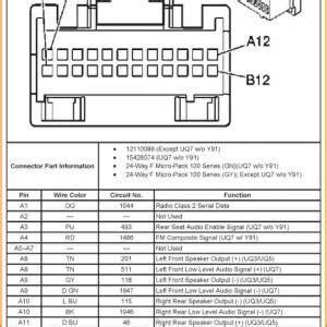 2002 chevy tahoe radio wiring diagram free wiring