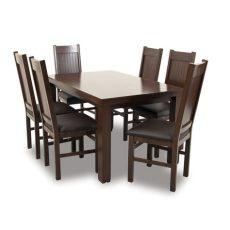 comedor de 6 sillas precio comedor nogales 6 sillas estilo transicional famsa 174