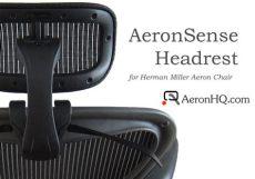 herman miller aeron chair headrest aeronsense headrest for herman miller aeron chair aeronhq