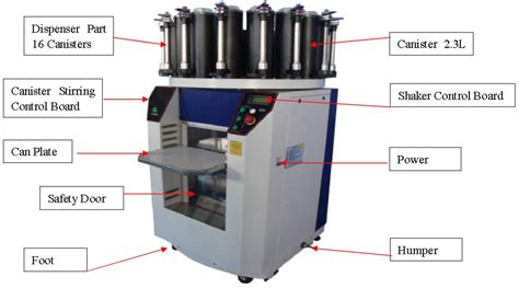 color tinting machine computerized paint mixer automatic coating