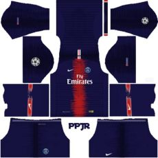 psg new kits mod ucl 2018 19 dls fts 15 by phanith phan - Kit Dls 19 Psg