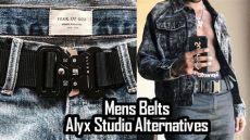 alyx belt alternative mens belts best affordable belts alyx studio alternatives
